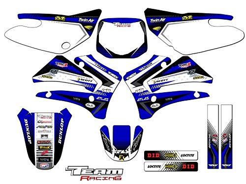 Team Racing Graphics kit for 2000-2007 Yamaha TTR 125 ANALOG Complete Kit