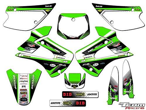 Team Racing Graphics kit for 2001-2013 Kawasaki KX 85100 ANALOG Complete Kit