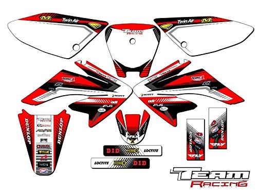 Team Racing Graphics kit for 2004-2013 Honda CRF 70 ANALOG