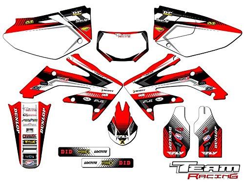 Team Racing Graphics kit for 2004-2017 Honda CRF 250X ANALOG