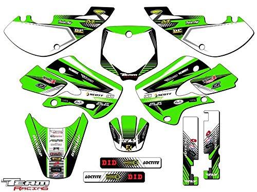 Team Racing Graphics kit for All Years Kawasaki KX 65 ANALOG Complete Kit