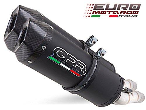 Honda Varadero 1000 1999-2011 GPR Exhaust Dual Silencers Ghisa Evo Homologated