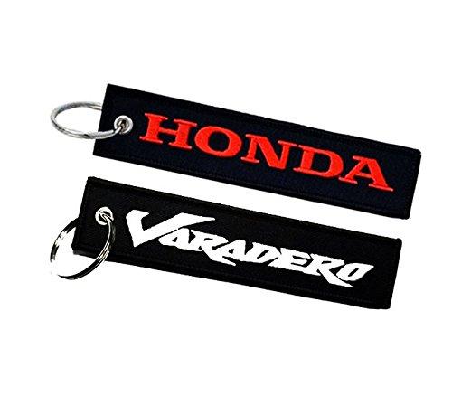 Honda Varadero double sided key ring