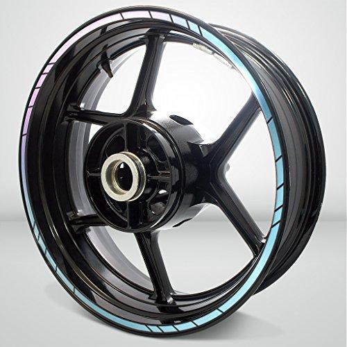 Speed Outer Rim Liner Stripe for Honda Varadero 2 Tone Amethyst