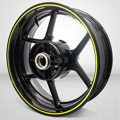 Thin Outer Rim Liner Stripe for Honda Varadero Fluorescent Yellow