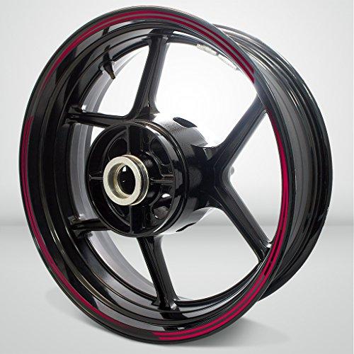 Vector Outer Rim Liner Stripe for Honda Varadero 2 Tone Cranberry