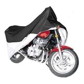 Vehicore Motorcycle Cover for Honda Varadero 1000V BlackSilver w Lock Cable