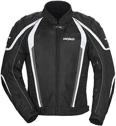 Cortech GX-Sport Air 40 Mens Black MeshTextile Jacket - Medium