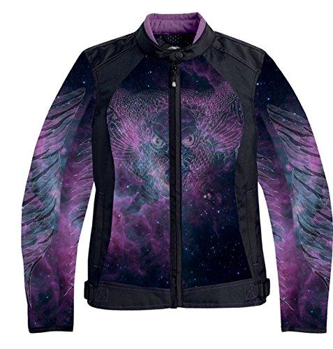 NexGen Womens Cosmic MeshTextile Combo Jacket Black XXX-Large