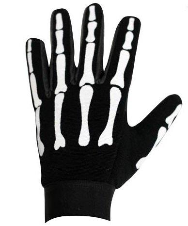 Skeleton Mesh Textile Motorcycle Mechanics Gloves Size XL X-Large