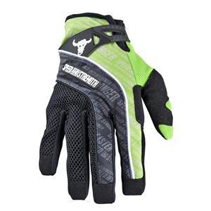 Speed Strength Lunatic Fringe Mesh and Textile Gloves  Distinct Name Green Primary Color Black Size Md Gender MensUnisex Apparel Material Textile 87-6411