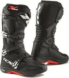 Tcx Comp Evo Michelin Mx/enduro Boots Black Mens 9/eu43 (9/eu43)