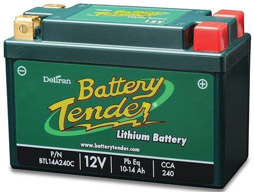 Lithium Iron Phosphate 12V 14AH Battery for Kawasaki ZZR 1200