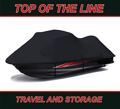 BLACK KAWASAKI ZXi 1100 1996 1997 1998 1999 2000 2001 2002 2003 Jet Ski Cover 2 Seater