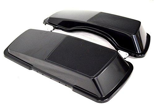 6x9 Saddlebag Speaker Lids Unpainted for 1993-2013 Harley-Davidson Touring Models Road Glide Street Glide Electra Ultra Classic