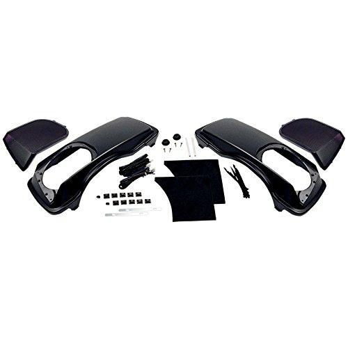 Hogtunes 6x9 Saddlebag Speaker Lids without Speakers for 1998-2013 Harley-Davidson Touring models - HT-LID