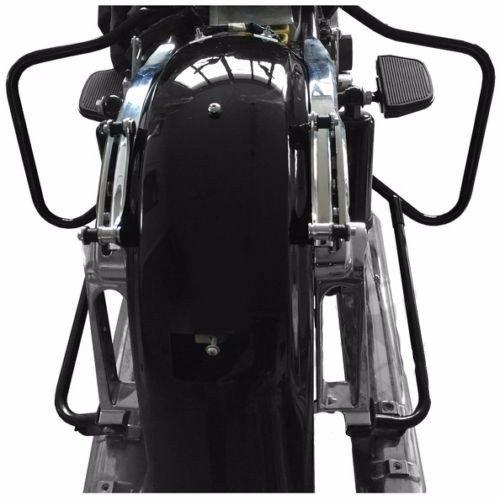 Saddlebag Bracket Guard Bar Set For Harley Touring Electra Glide Road King 14