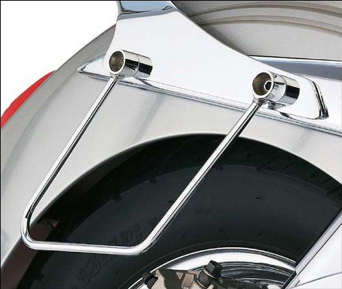 00-08 KAWASAKI VN1500N Cobra Saddlebag Supports - Chrome CHROME