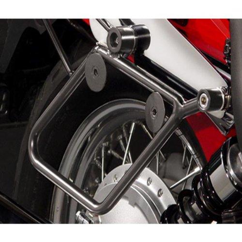 National Cycle Cruiseliner Hard Saddlebags Black Mount Kit for 1998-2010 Yamaha - One Size