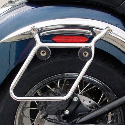 National Cycle Cruiseliner Quick Release Saddlebag Chrome Mount Kit