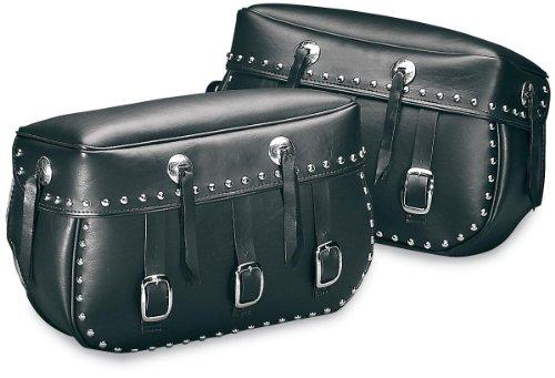 Saddlemen 3501-0410 S4 Rigid-Mount Specific-Fit Quick-Disconnect Saddlebags - Desperado