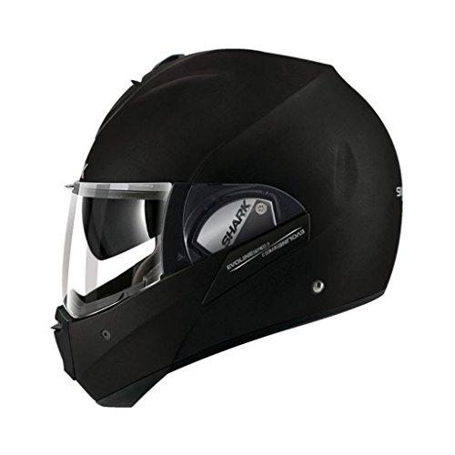 Shark Evoline Series 3 Uni Matte Black Modular Motorcycle Helmet Size Xsmall