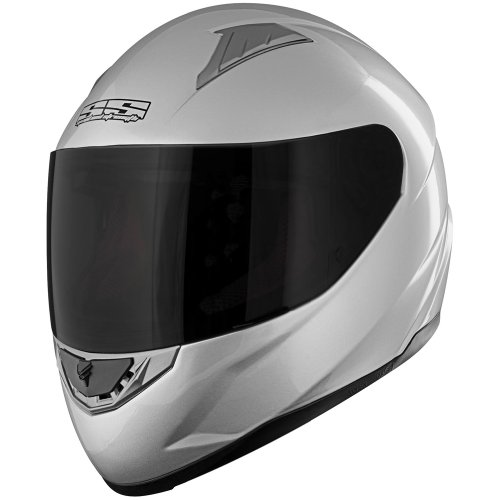Speed and Strength SS1100 Solid Speed Helmet - X-SmallSilver