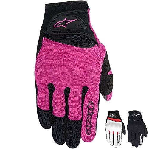 Alpinestars Stella Spartan Womens Gloves WhiteBlackRed SM