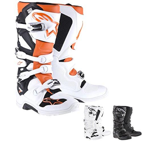 Alpinestars Tech 7 Enduro Mens Off-Road Motorcycle Boots - Black  7