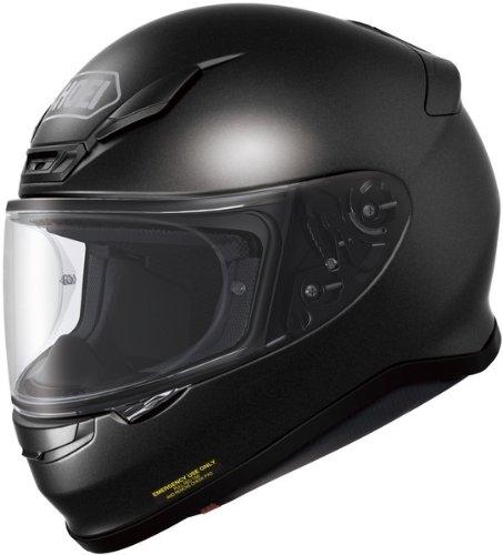 Shoei RF-1200 Solid Full-Face Adult Helmet Black Metallic 2XLXXL