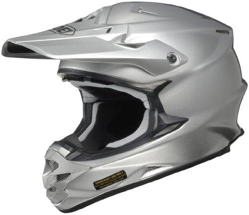 Shoei VFX-W Off-Road Helmet Light Silver Medium
