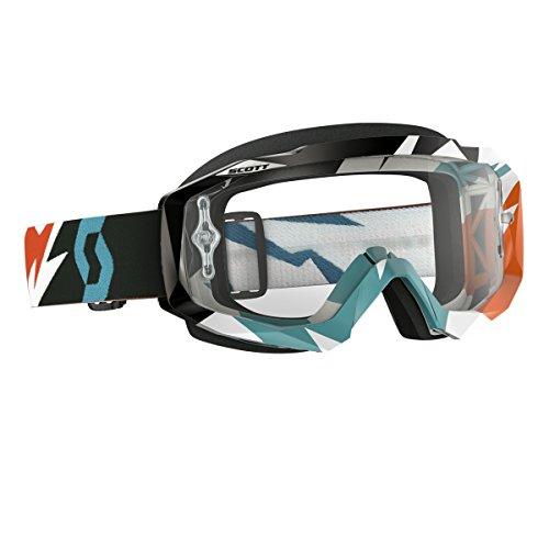 SCOTT Hustle Goggles Cracked OrangeTurq 240587-4980113
