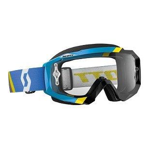 Scott Hustle Asymmetric Goggles - BlueBlackClear Works  One Size