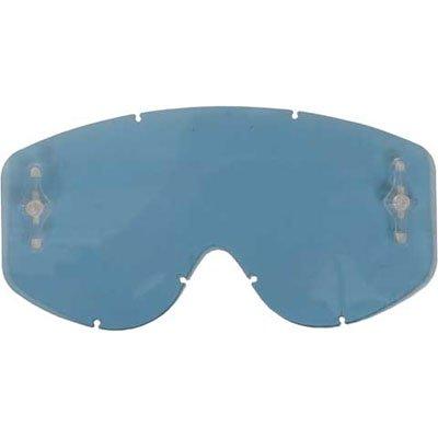 Scott HustleTyrant Series Works Single Replacement Lens Off-RoadDirt Bike Motorcycle Eyewear Accessories - AMP Blue