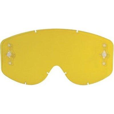 Scott HustleTyrant Series Works Single Replacement Lens Off-RoadDirt Bike Motorcycle Eyewear Accessories - Yellow