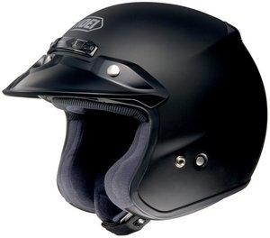 SHOEI RJ PLATINUM R SERIES CRUISER MATTE BLACK SIZELRG Motorcycle Open-Face-Helmet