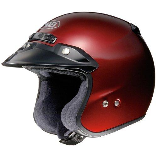 Shoei Metallic RJ-Platinum R Cruiser Motorcycle Helmet - Wine Red  Large
