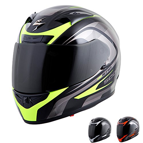 Scorpion EXO-R710 Focus Street Motorcycle Helmet Red X-Large