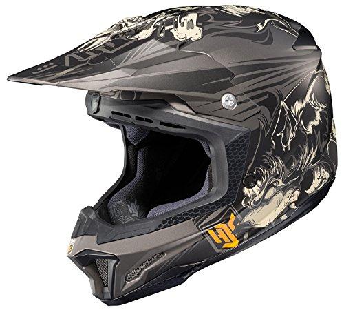 HJC CL-X7 El Lobo Off-Road Motocross Helmet MC-5F Large