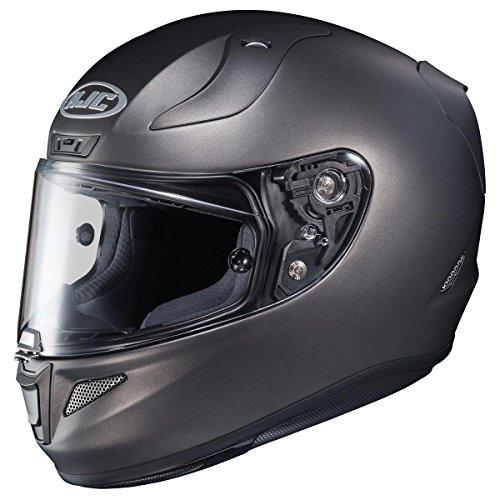 HJC Helmets Unisex-Adult Full-Face-Helmet-Style RPHA-11 Pro Metallic Helmet Titanium Small