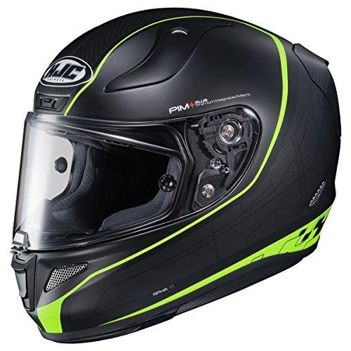 HJC Pro Riberte Mens RPHA 11 Street Bike Motorcycle Helmet - M4HSF Large