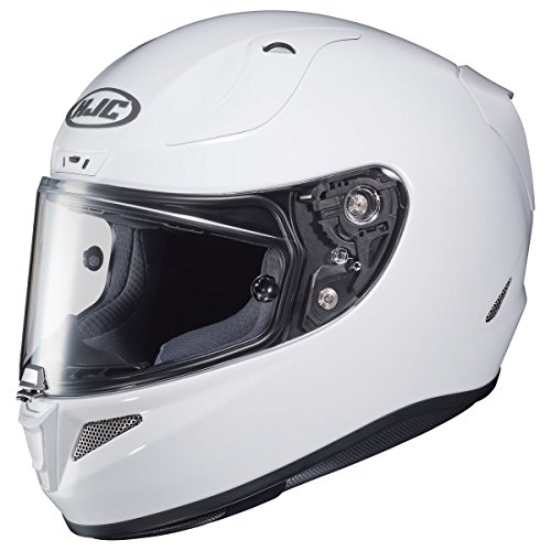 HJC Solid Pro Mens RPHA 11 Street Bike Motorcycle Helmet - White Large