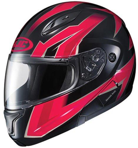 HJC CL-Max II Ridge Graphic Red Modular Helmet XL
