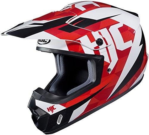 HJC CS-MX II Dakota - Off-RoadDirt Motorcycle Helmet - RedWhiteBlack - Small