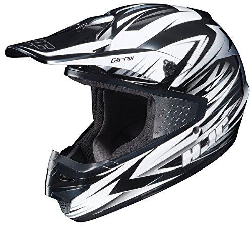 HJC CS-MX Shattered Motocross Motorcycle Helmet MC-10 Small