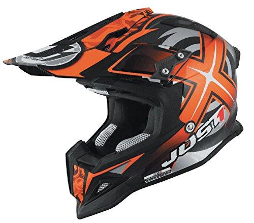 Just 1 J12 Mister X Helmet Gender MensUnisex Helmet Type Offroad Helmets Helmet Category Offroad Distinct Name Orange Primary Color Orange Size Sm J1J388ORCBMXS