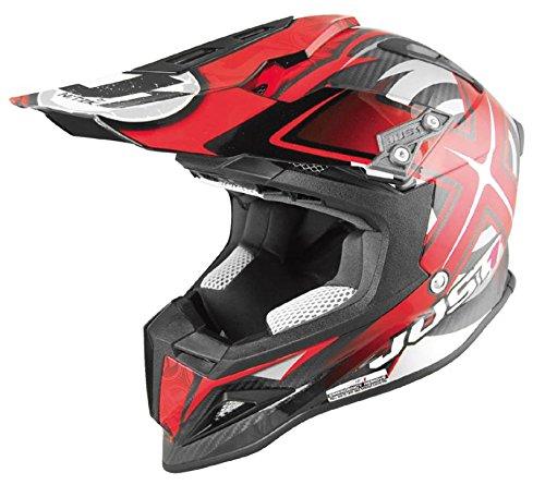 Just 1 J12 Mister X Helmet Gender MensUnisex Helmet Type Offroad Helmets Helmet Category Offroad Distinct Name Red Primary Color Red Size XS J1J388RDCBMXXS