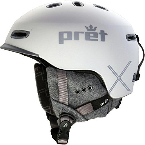 Pret Helmets Lyric X Helmet - Womens Rubber Pearl Chalk S