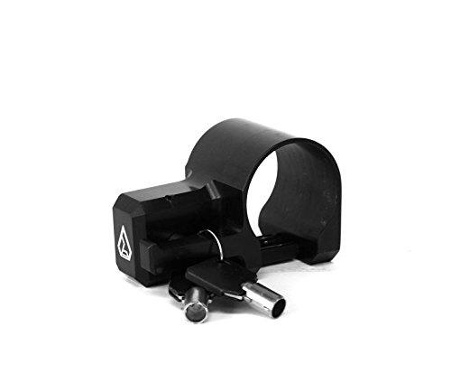 Assault Industries Black Helmet Push Pin Lock w 20 Clamp