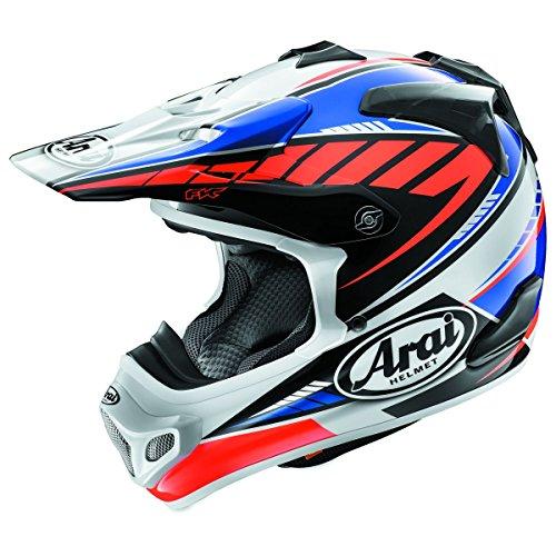 Arai VX-Pro 4 Spike Blue Motocross Helmet - Large